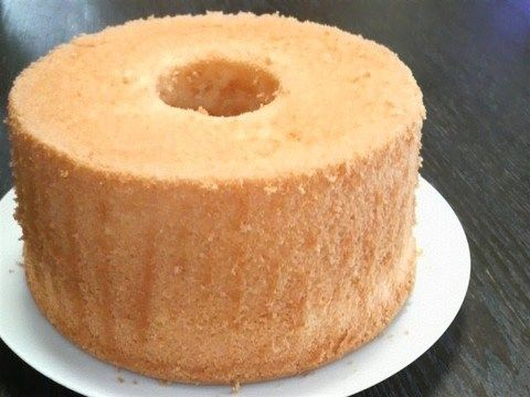 Melt In Your Mouth Chiffon Cake Recipe By Cookpad Japan Recipe Cake Recipes Cake Chiffon Cake