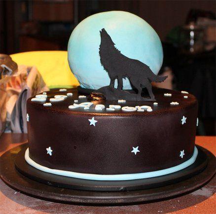 wolf dog wedding cake topper wolves howling bride groom animal  Howling Wolf Animal Jam Cake