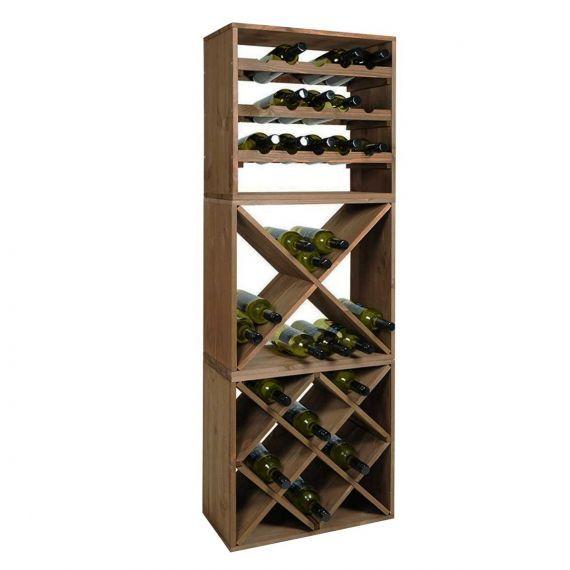 Etagere A Vin Cube 15 Bouteilles Casier A Bouteille Rangement Cave Etageres A Bouteilles De Vin