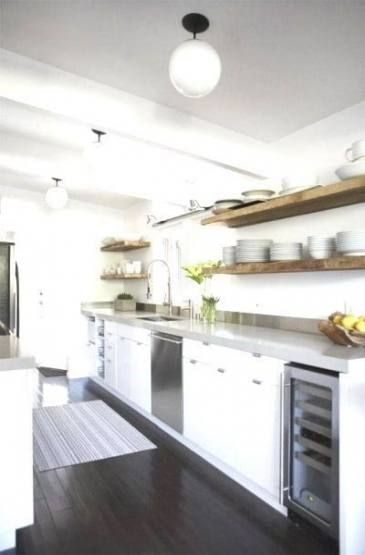 Best Small Double Galley Kitchen Layout 19 Ideas