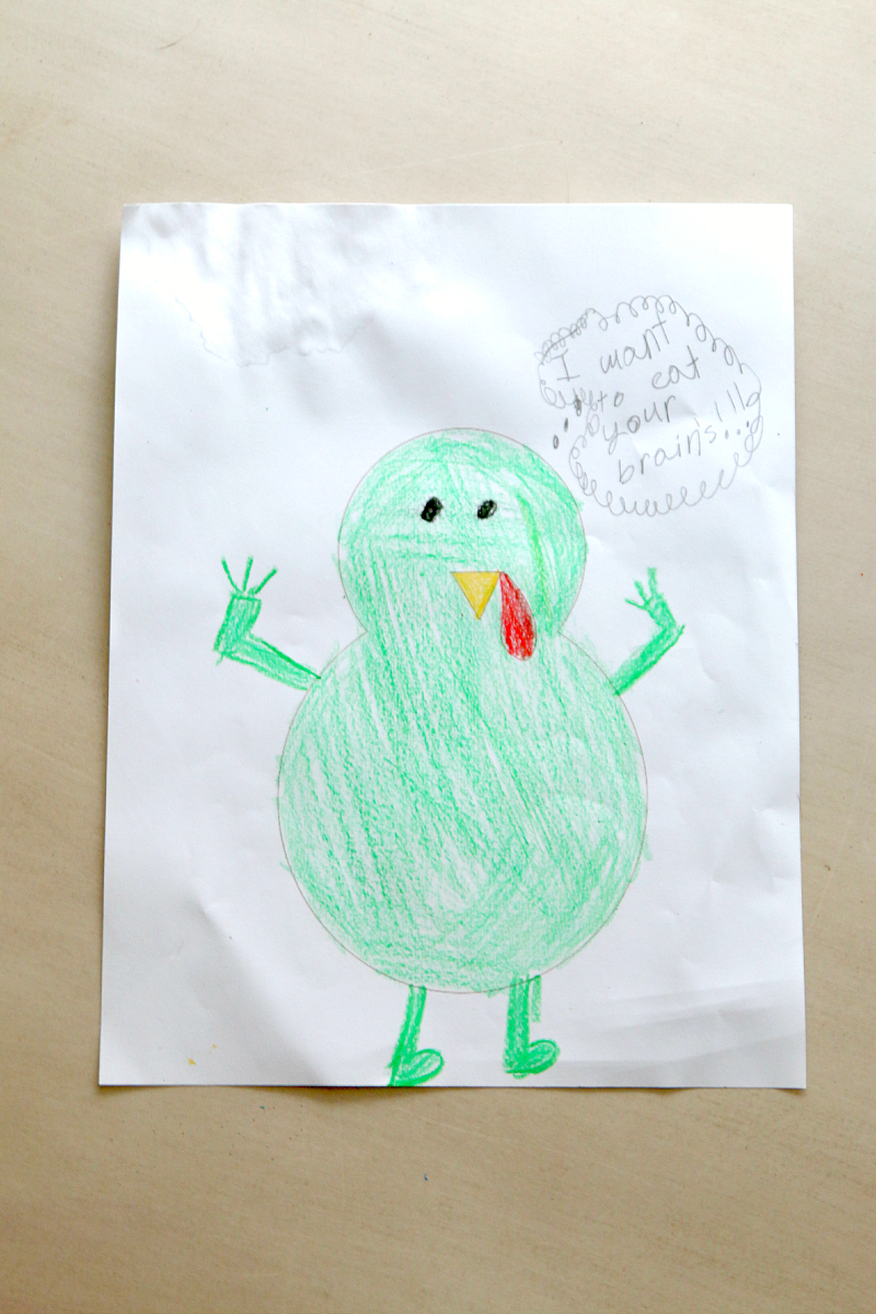 Turkey In Disguise Free Printable Template Free Printable Turkey