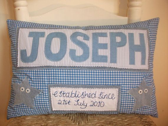 Personalised baby name and birth date pillow by rosiegirllondon personalised baby name and birth date pillow by rosiegirllondon 3000 negle Image collections