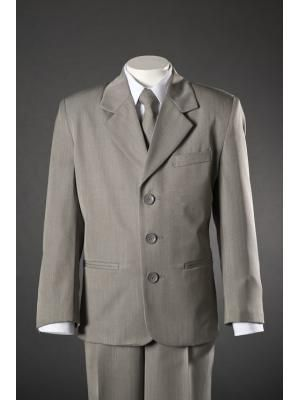 354b16ad203a Boys Grey 5 Piece Suit M104 by Cole