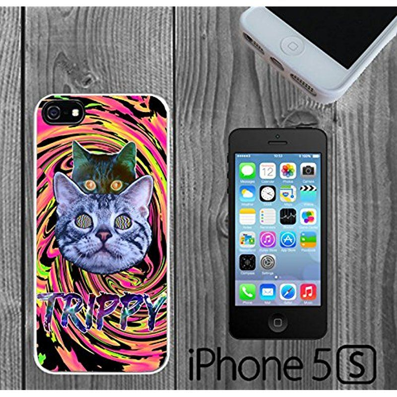 watch b341f 70c9b Trippy Acid Illusion Cats Custom made Case/Cover/skin FOR iPhone 5 ...