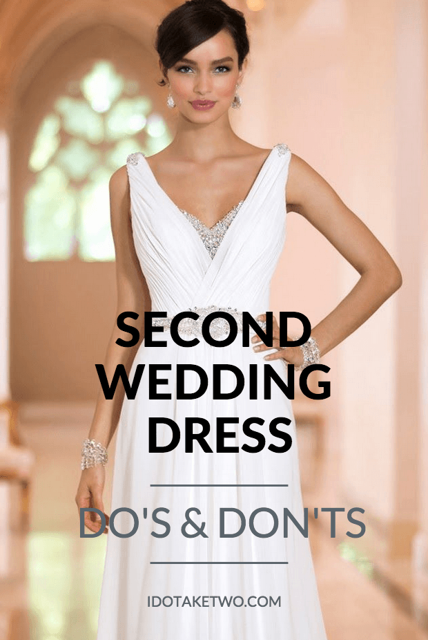 Choosing Dresses for a Second Wedding | Wedding dress, Weddings and ...