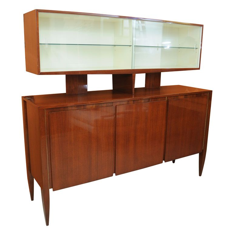 A Fine Gio Ponti Cabinet, 1950s, Singer and Sons