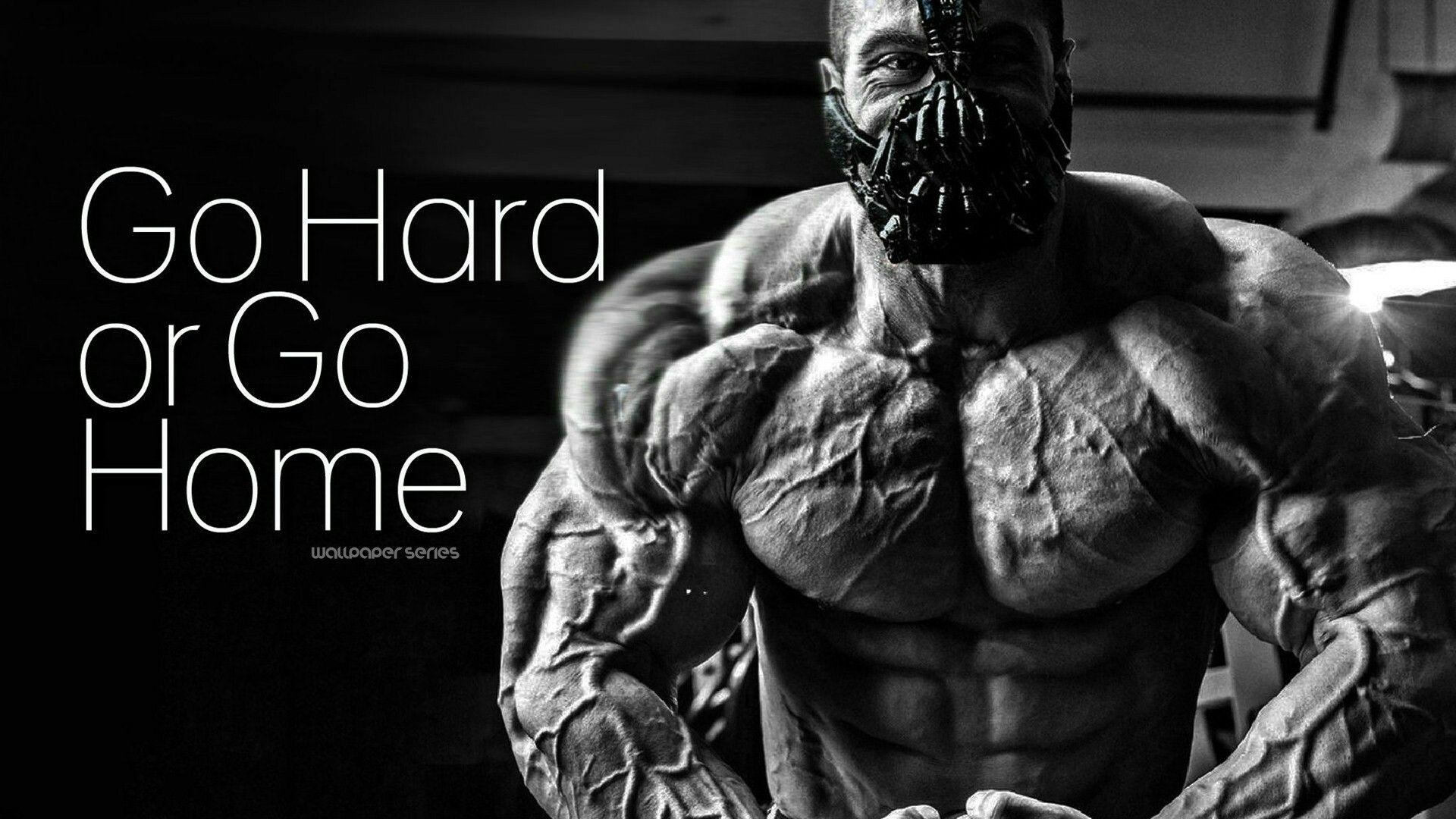 Go Hard Exercise Gym Gym Motivation Wallpaper Workout