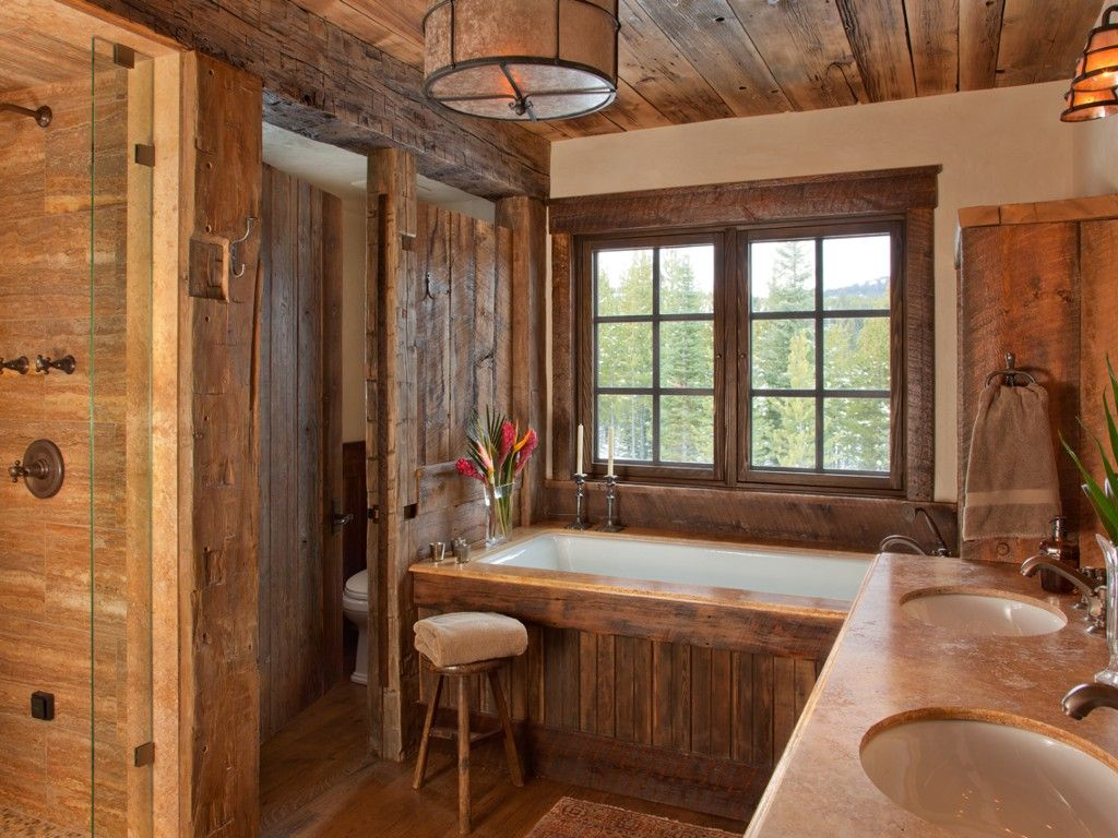 Master bathroom with walk-in shower / steam shower, two-person ...
