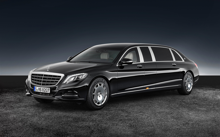 Download Wallpapers Maybach Mercedes S600 Pullman Guard 2018 4k Black Limousine Luxury Cars Presidential Car Mercedes Benz Besthqwallpapers Com Mercedes Benz Maybach Mercedes Maybach Carros De Luxo