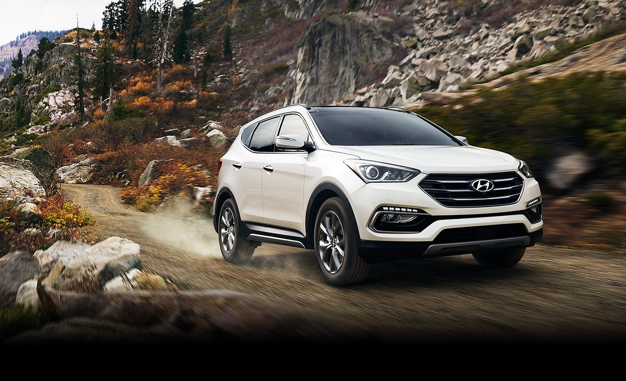 2017 Hyundai Santa Fe It's like going into an Ice Cream