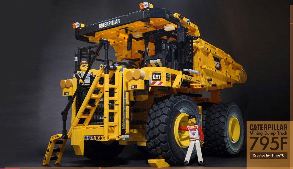 Lego Technic Mining Truck | Lego | Pinterest | Lego technic, Lego ...