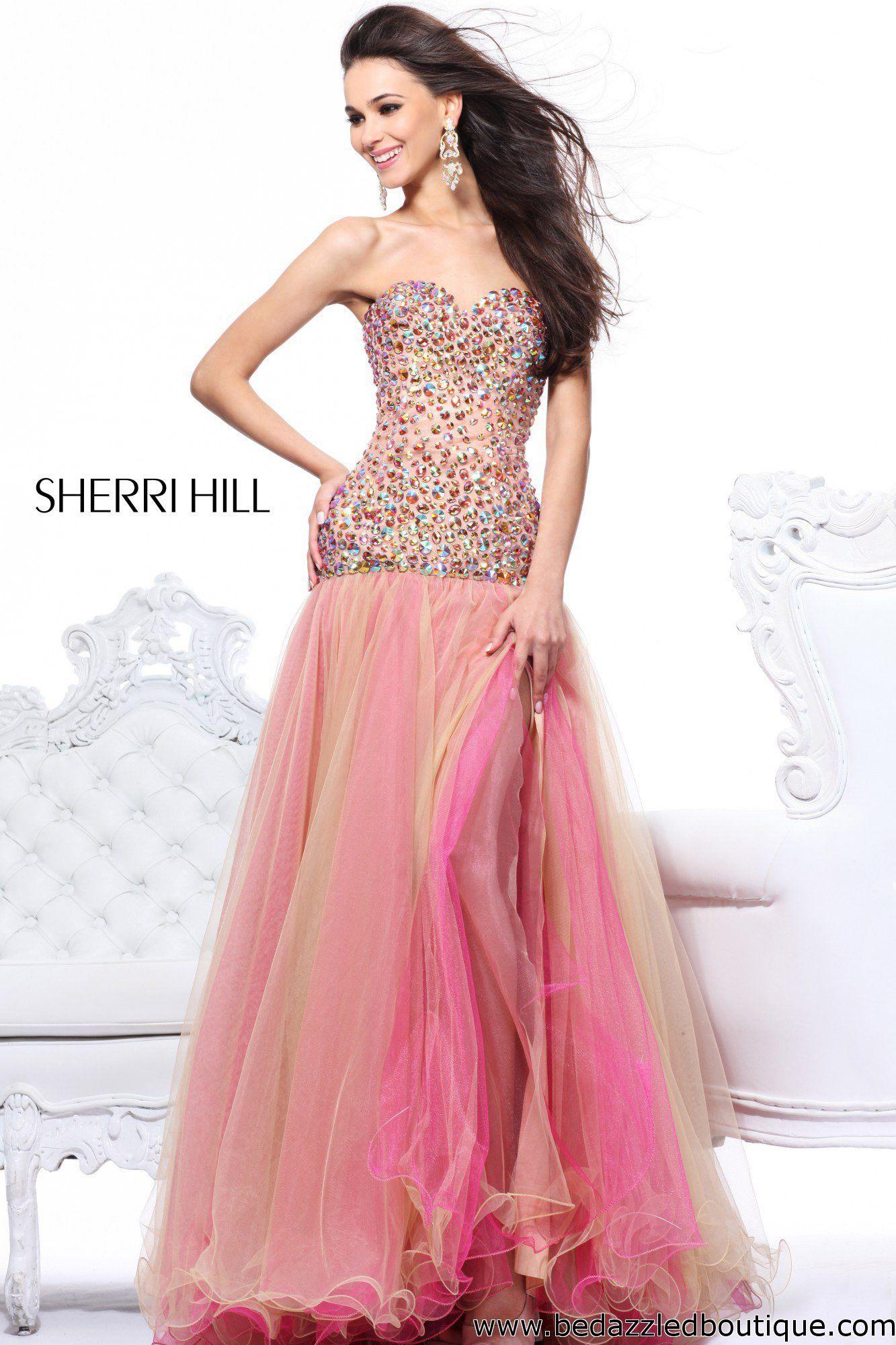 Sherri Hill 21083 | xv años | Pinterest | Fiestas rosadas, Vestidos ...