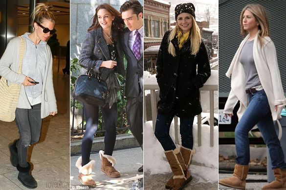 3db97570406 Pg. 115, celebrities wearing Ugg boots after they had become popular ...