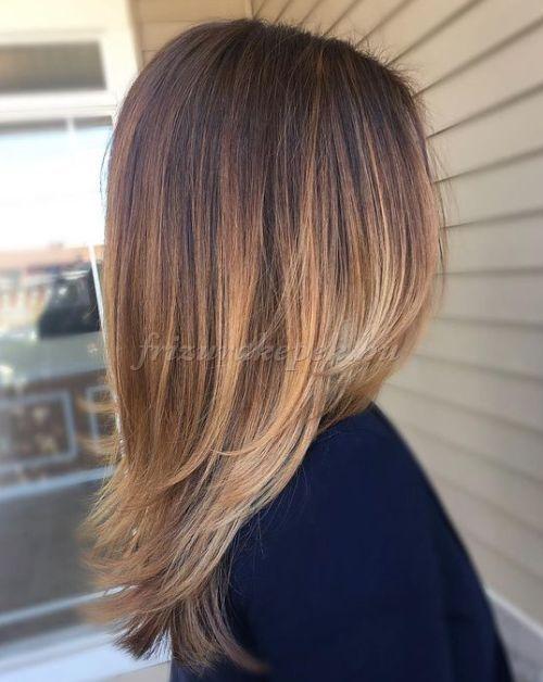 Frizurákhosszúhajból Ombrefrizura Frizurák Ekkor 2019 Hair