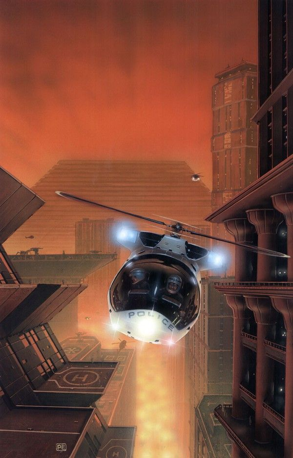 Sci-Fi Illustrations by Peter Elson