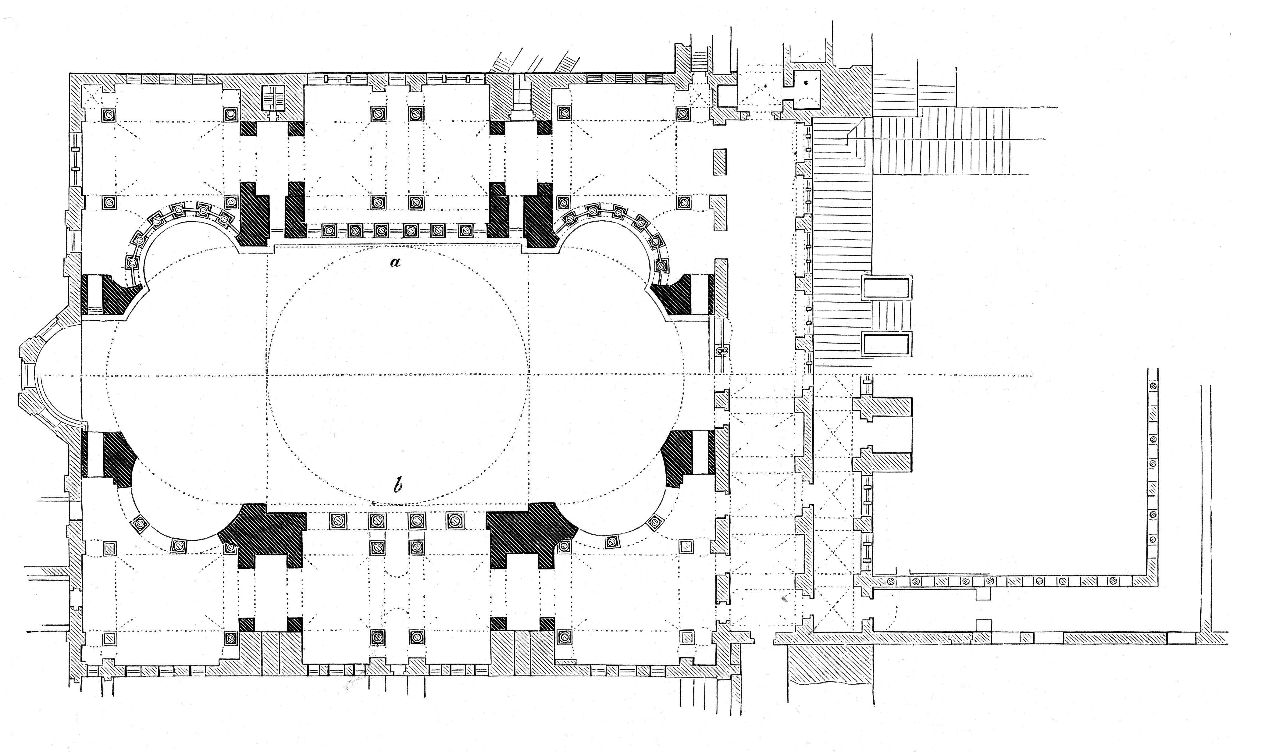Hagia Sophia Plan