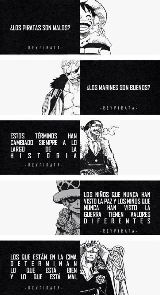 Piratas malos y marines buenos
