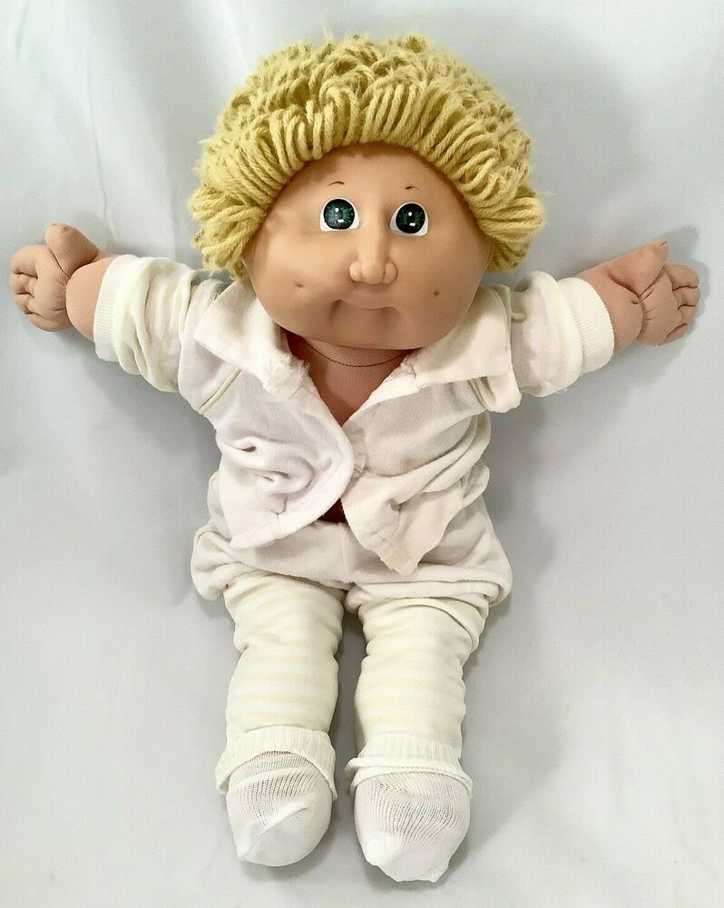 Vintage 1978 1982 Cabbage Patch Kids Doll By Coleco 2 71 R5270 Blue Signature Cabbagepatchkids Cabbage Patch Kids Dolls Patch Kids Cabbage Patch Kids