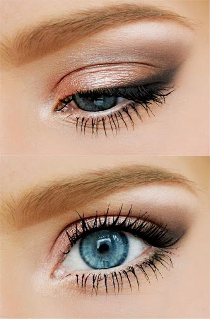 How To Do Cute Makeup For Blue Eyes Peach Makeup Skin Makeup