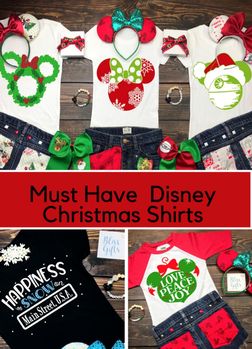 Disney Christmas Shirt Designs.Must Have Disney Shirt For The Christmas Season Shirt Ideas