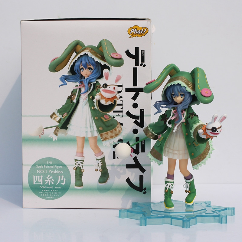 31.50$  Watch more here  - 1pc Anime Date A Live Yoshino Hermit PVC figure toy beautiful fairy doll model for collection Free shipping