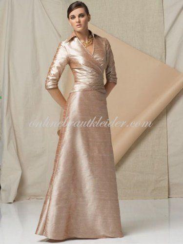 Online Brautkleider Cheap a-line andere Ausschnitte bodenlangen Taft ...