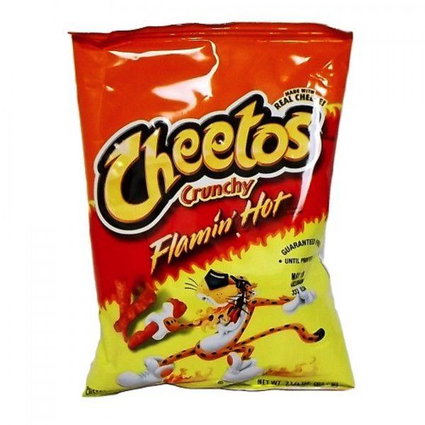 Cheetos Crunchy Flamin Hot 1 25oz 35 4g Cheetos Cheetos Crunchy Food Png