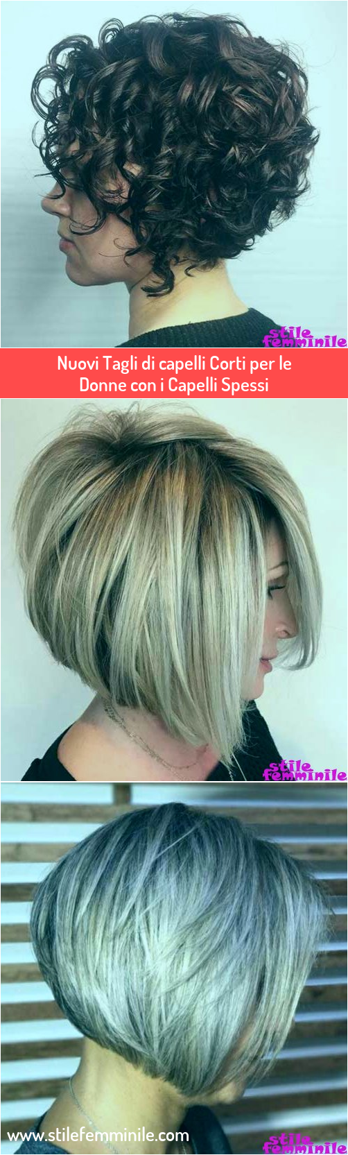 Photo of Nuovi tagli di capelli corti per donne con capelli spessi