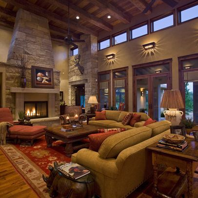 Texas Style Living Room Design Ideas Pictures Remodel And Decor
