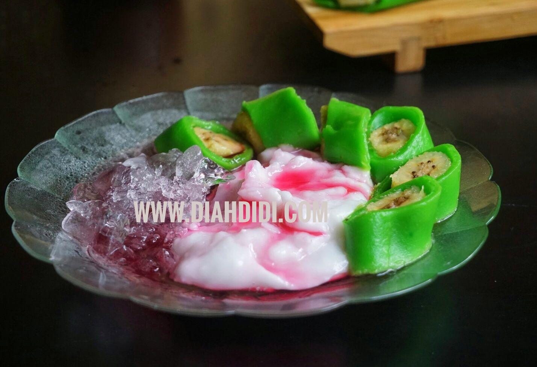 Diah Didi S Kitchen Es Pisang Ijo Resep Baru Makanan Dan Minuman Makanan Resep