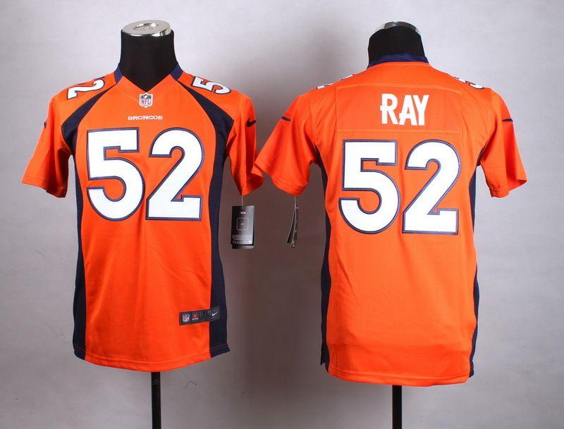 3b1acd6e Youth Nike Denver Broncos #52 Shane Ray Orange Team Color Stitched ...