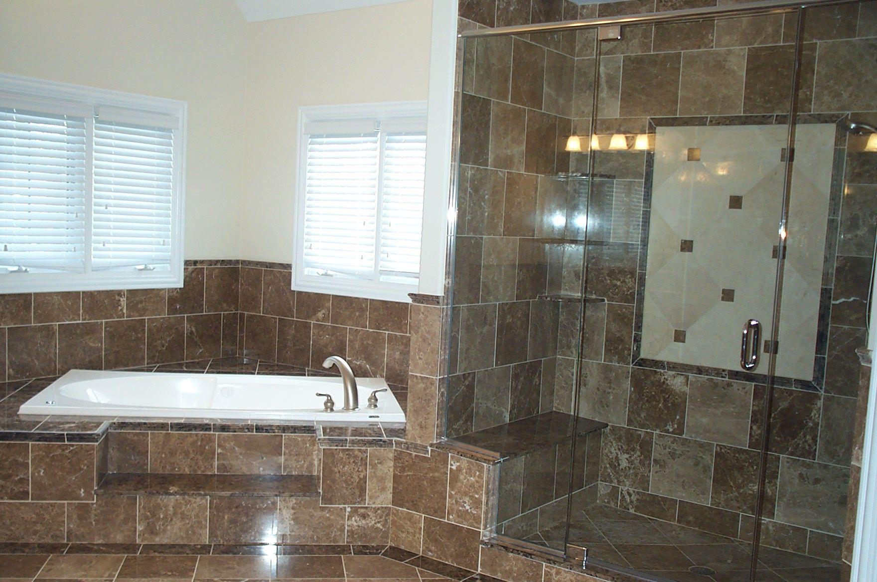Nice bathrooms nicebathroomremodelingjobwithbigdarktiles