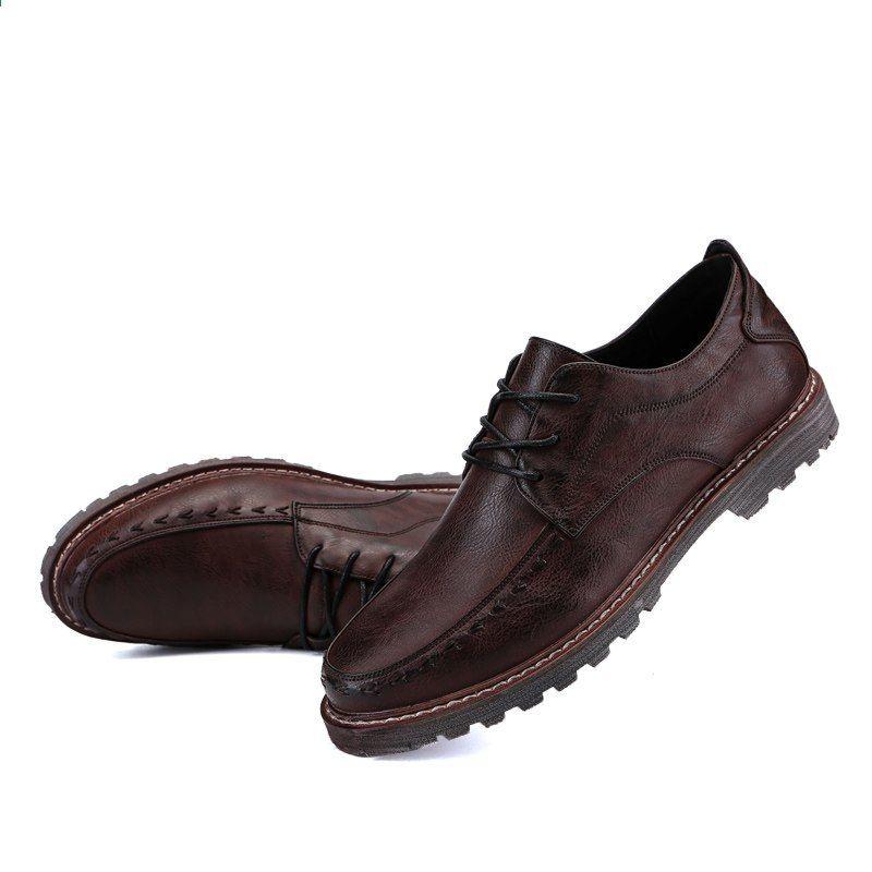 2018 Wiosna Mezczyzni Biznes Marka Mieszkania Przypadkowi Buty Zasznurowywaja Meskich Rzemiennych Slubnych Buty Wygodn Dress Shoes Men Oxford Shoes Dress Shoes