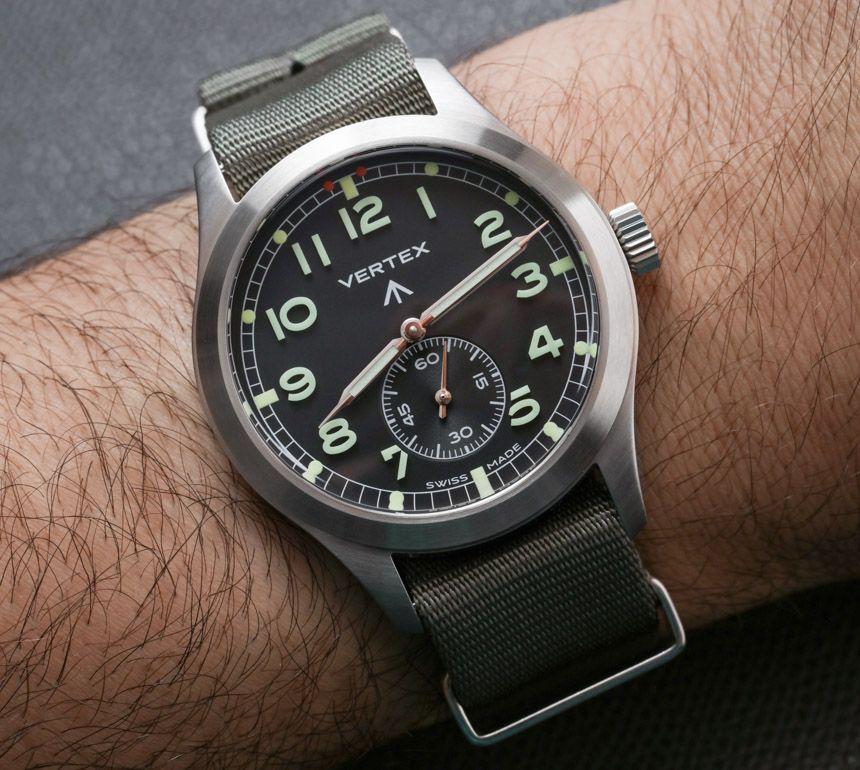 Vertex M100 Watch Review Horloges