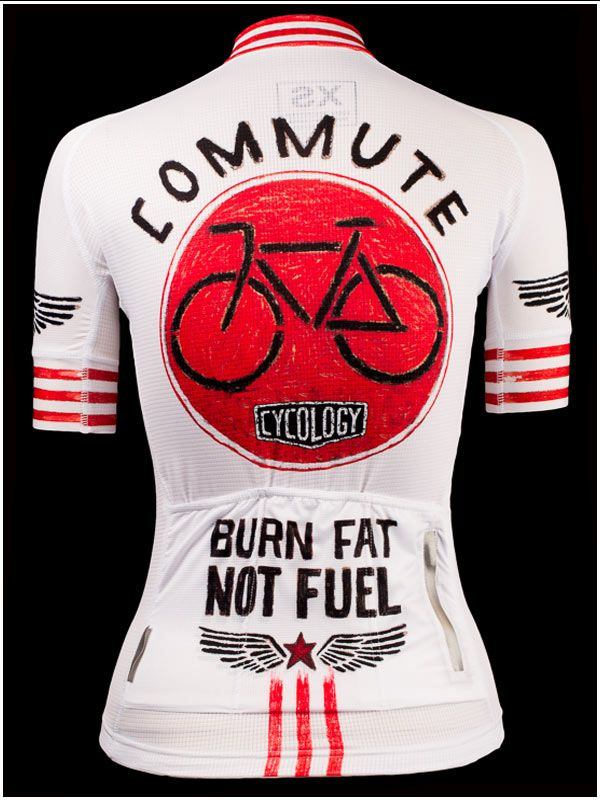 Burn Fat Not Fuel - Cool new cycling jersey from Cycology. All Italian  fabrication. FREE SHIPPING WORLDWIDE.  cycling  jerseys 01bce5eb2