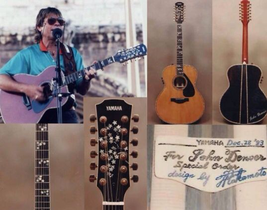 john denver yamaha l series special order terry nakamoto guitars. Black Bedroom Furniture Sets. Home Design Ideas