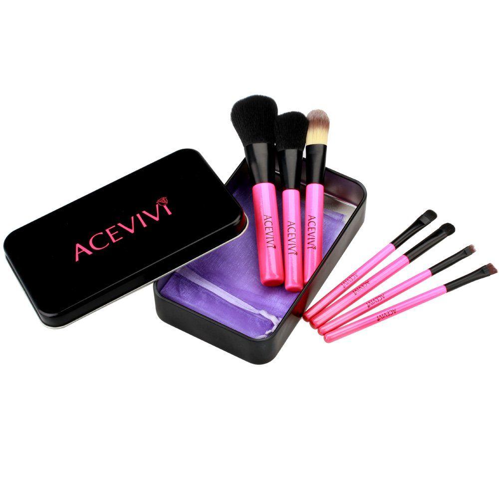 Amazon.com : ACEVIVI Korea Portable Cosmetic Brushes