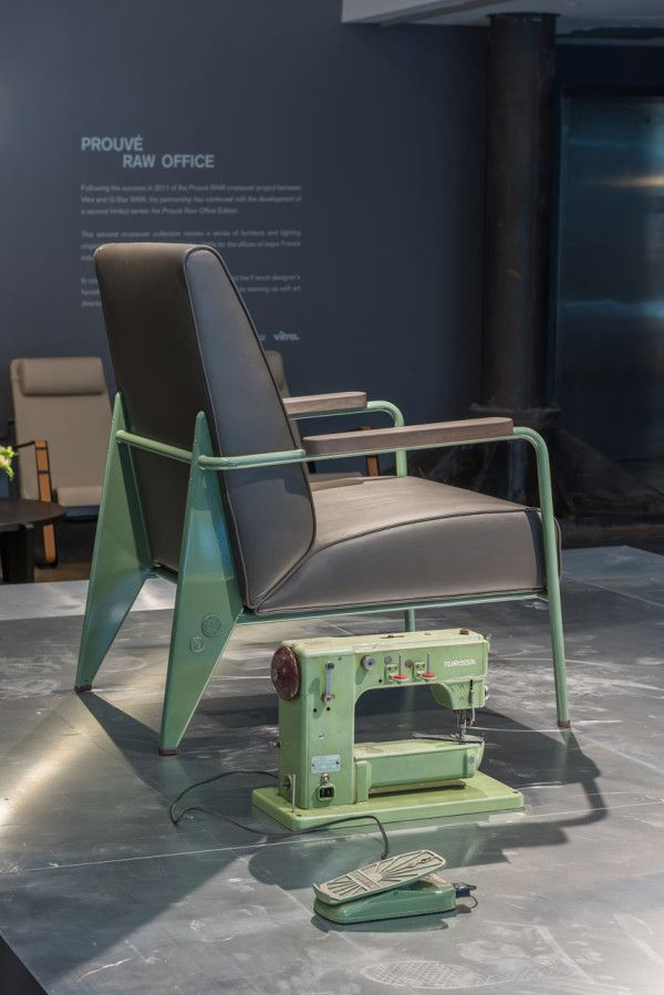 Vitra & G Star RAW Launch Prouvé RAW Office Edition | Chair