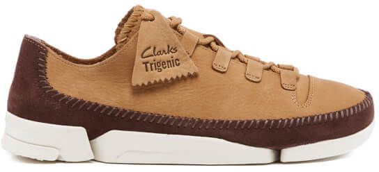 20c7387fb036b8 Clarks Originals Men's Trigenic Flex 2 Shoes Fudge Nubuck | Shoes ...