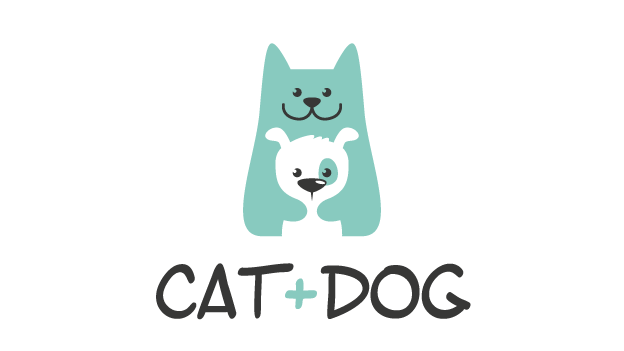 Cat Dog Logo Non Exclusive Logo Design By Crossthelime