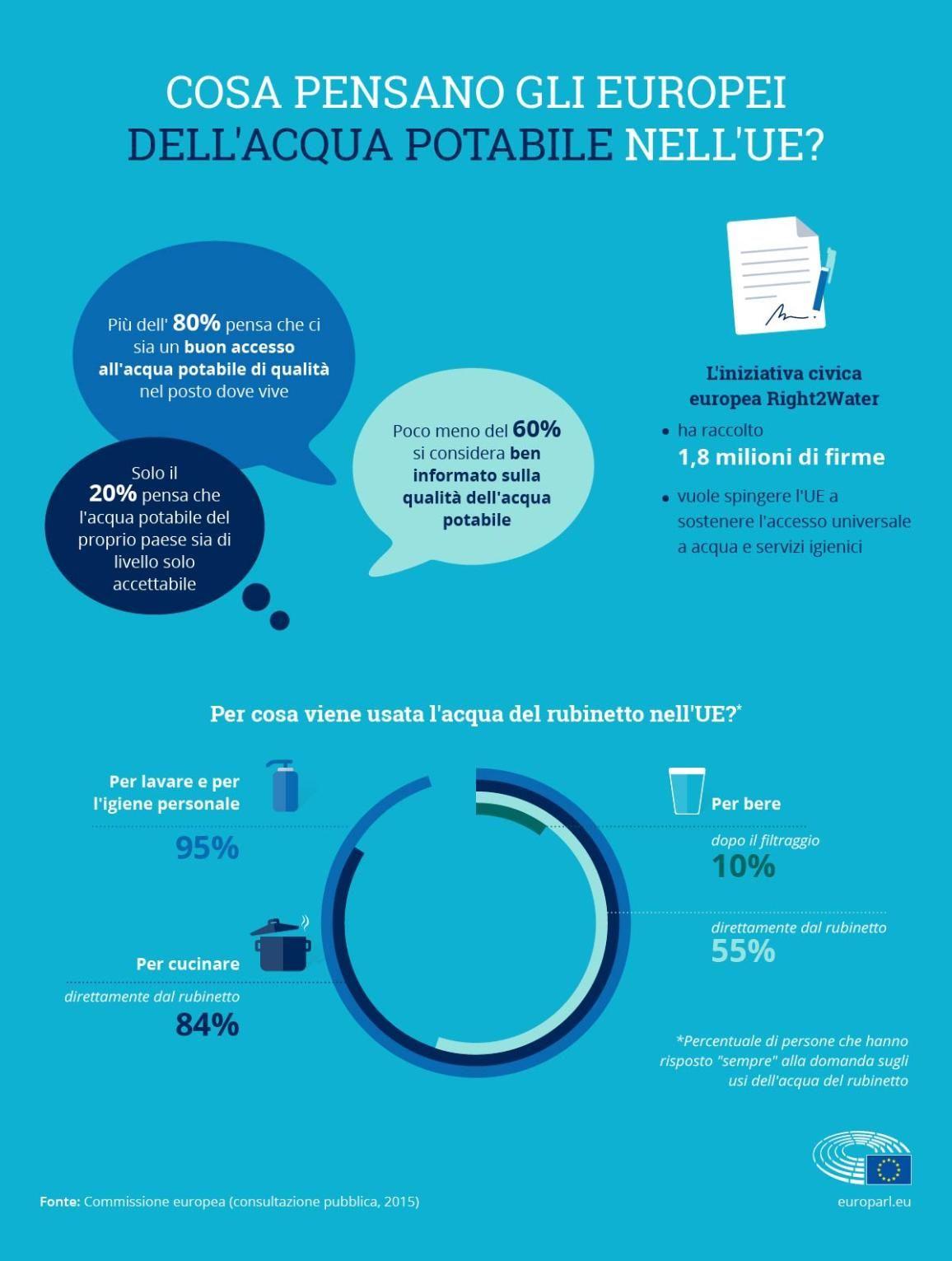 Acqua Potabile Nell Unione Europea Migliori Qualita E Accesso In 2020