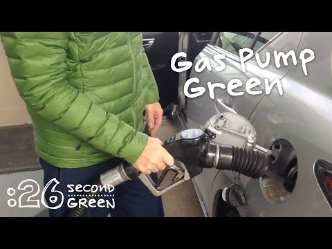 How to Save Paper at the Gas Pump | 26 Second Green