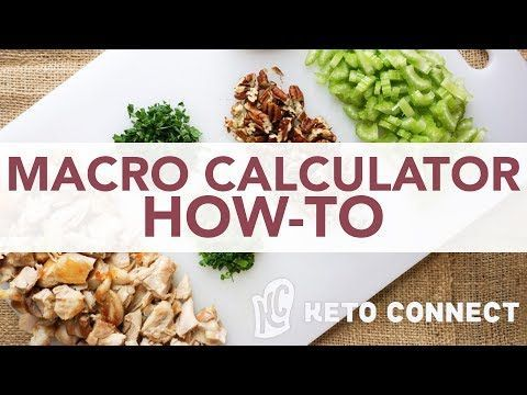 calcular macros para dieta keto