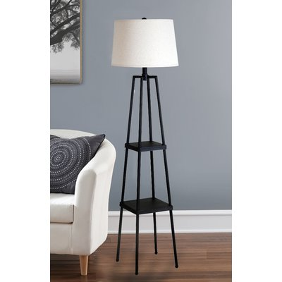 58 Floor Lamp Floor Lamp With Shelves Floor Lamp Tripod Floor Lamps
