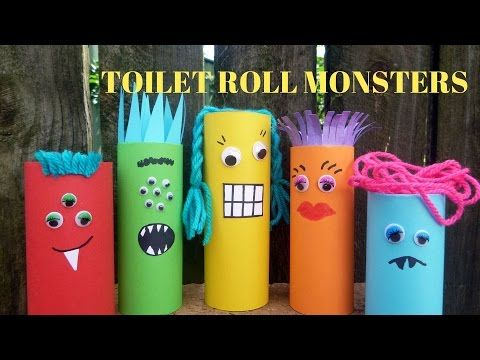 15 Awesome Toilet Paper Roll Crafts For Kids Easy Kids Craft