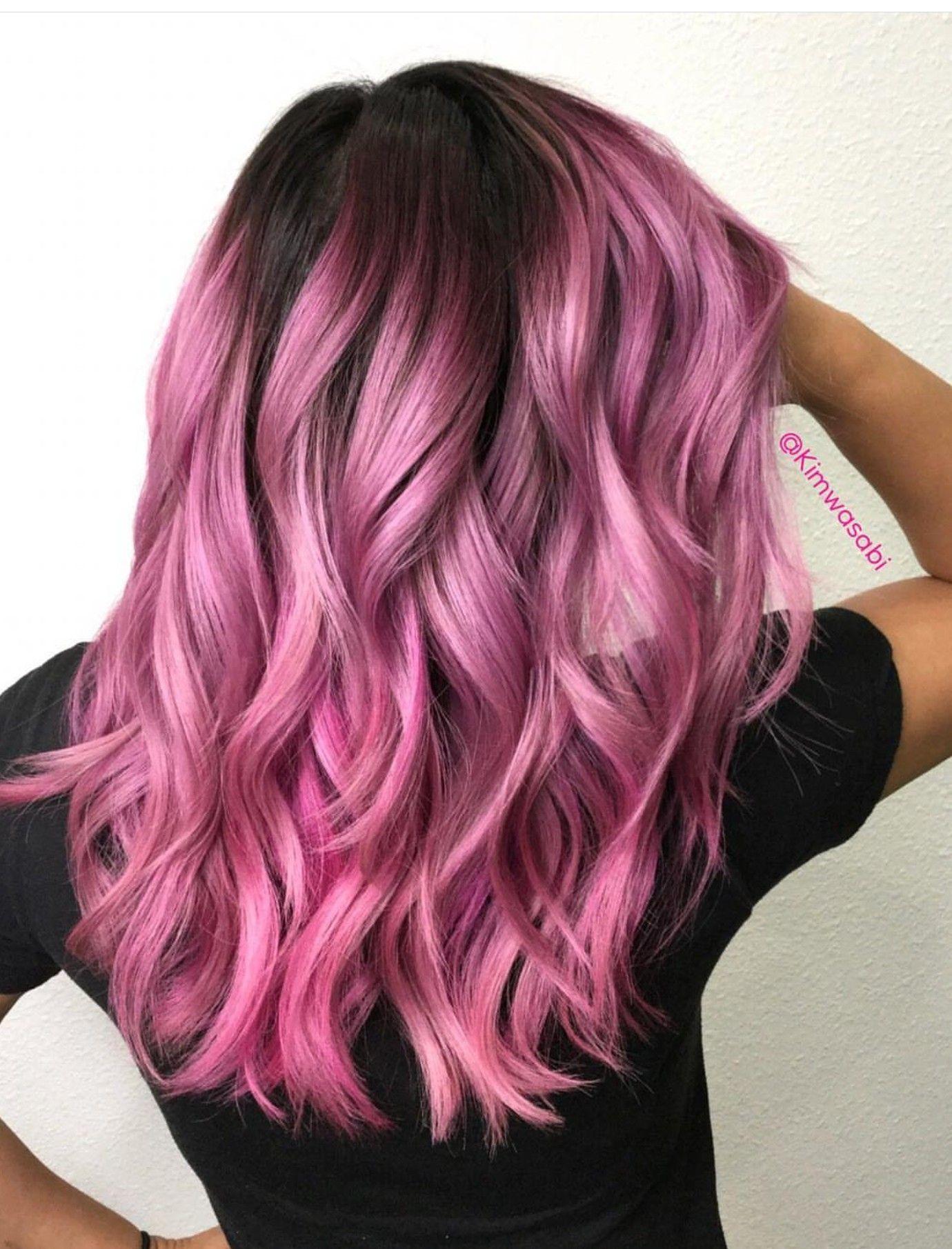 Pinterest Bellabel19 With Images Pink Hair Dye Hair