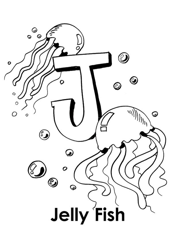 Pin By Kennedy Danielle On Day Care Ideas Coloring Worksheets For Kindergarten Coloring Letters Fish Coloring Page