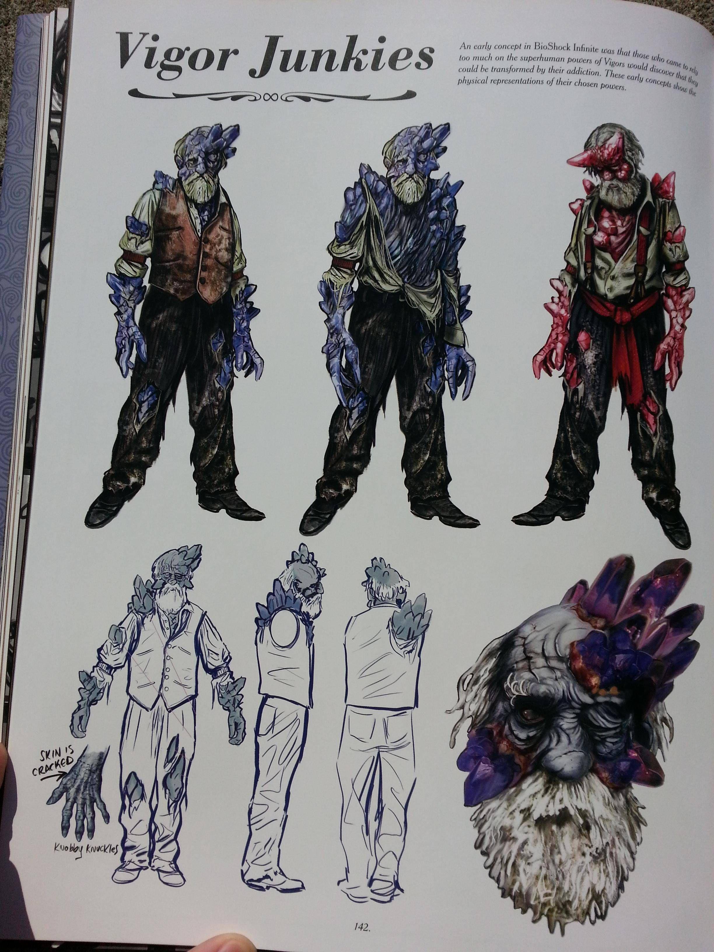 Bioshock infinite vigor junkies (concept art)   Concept Art