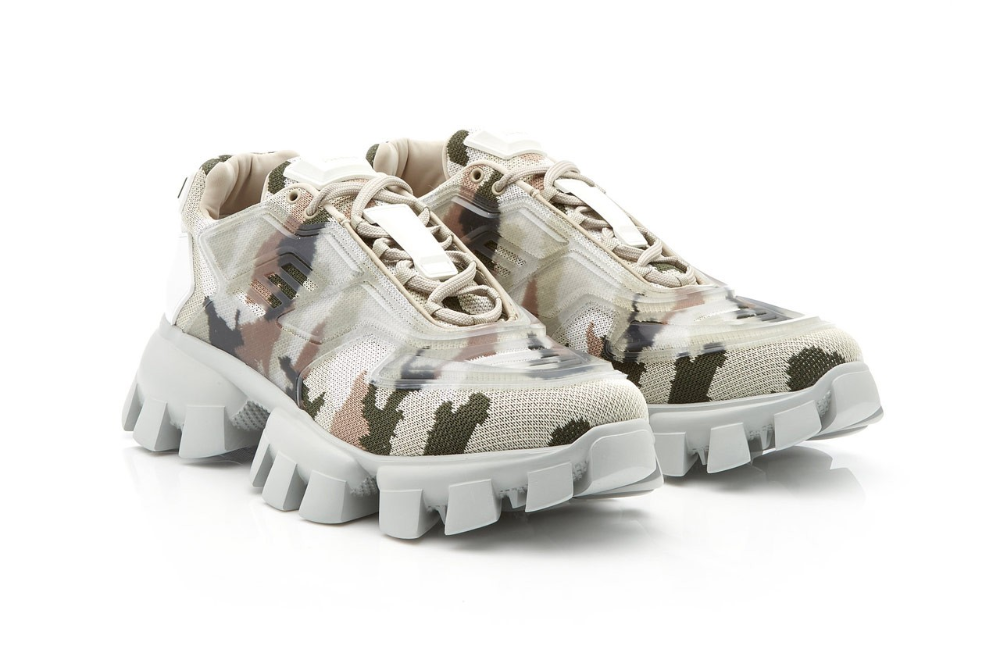Prada Drops Camo-Wrapped Sneaker With