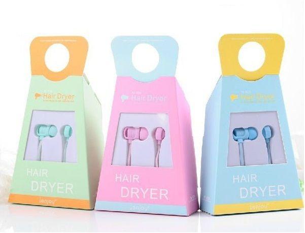 ֆենի դիզայնով ականջակալներ Hair Dryer Hair Styles